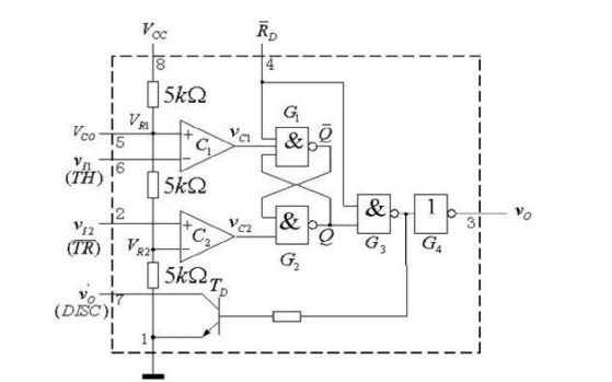 使用555定时器芯片设计流水灯的资料说明