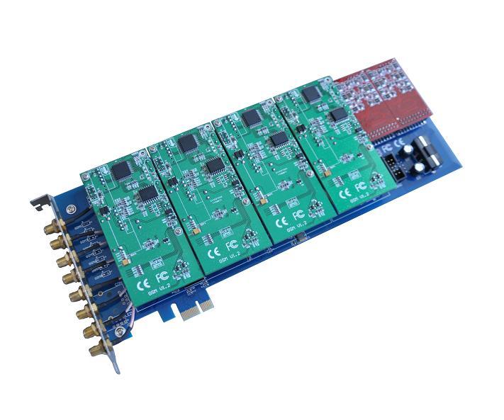 源创通信SinoV-GSM800E PCI-E GOIP astersk语音卡介绍