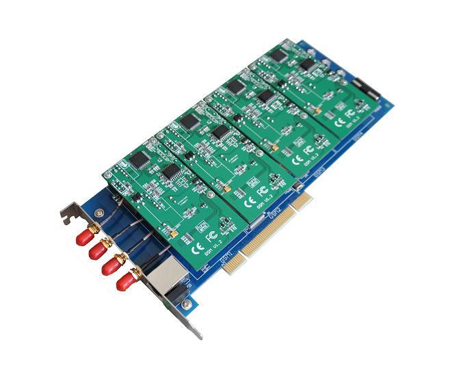 源创通信SinoV-GSM400P 4线 GSM 无线Asterisk卡介绍