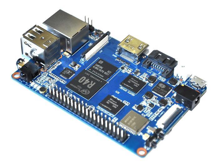 源创通信 BPI-M2 Ultra 四核开源单板计算机介绍