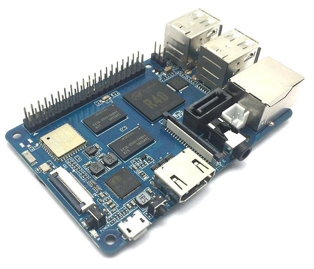 源创通信BPI-M2 Berry 四核开源单板计算机介绍