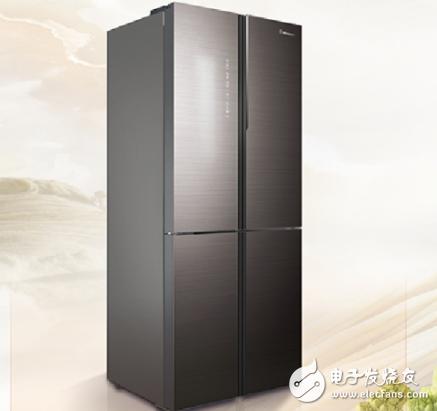 海信推出食神450十字对开冰箱 让食材有了属于自己的私密空间