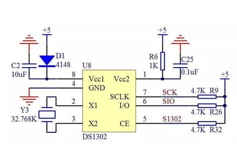 DS1302时钟芯片的写入和读取程序合集免费下载