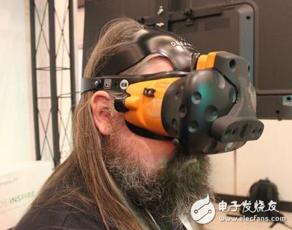模块化VR头显专为主题公园开发 能根据舒适性进行调整