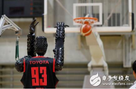 丰田CUE类人机器人创造了新记录 连续执行篮球罚球次数最多