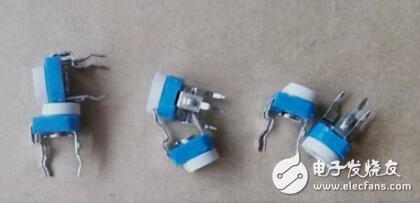 蓝白可调电位器的使用特点_蓝白可调电位器原理