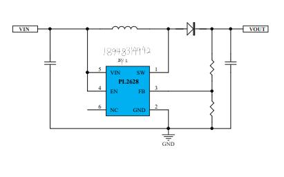 PL2628升压转换器的数据手册免费下载