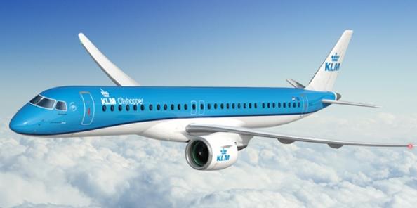 巴航工業與荷蘭皇家航空簽署了21架E195-E2確認定單及14架購買權