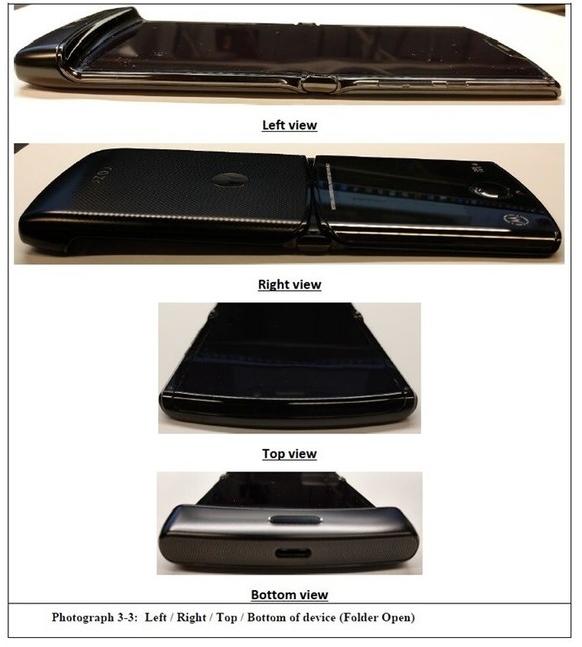 摩托罗拉RAZR可折叠屏手机曝光将采用上下折叠的方式设计