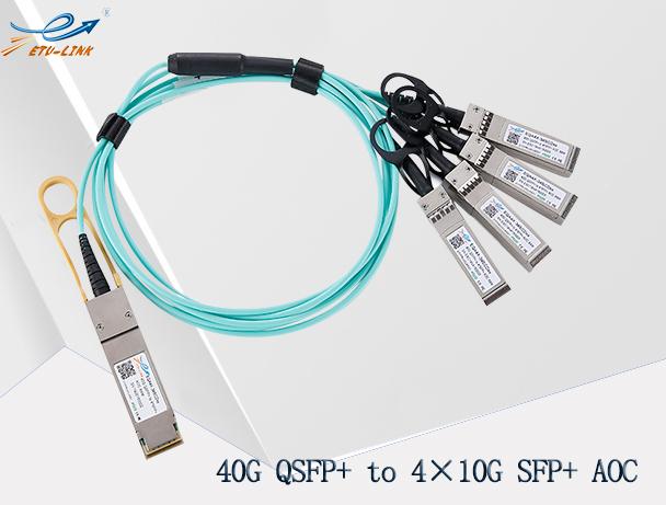 易天40G QSFP+ AOC有源光缆优势及互连解决方案