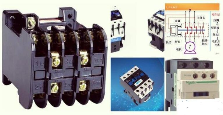 交流接触器和热继电器的配合使用