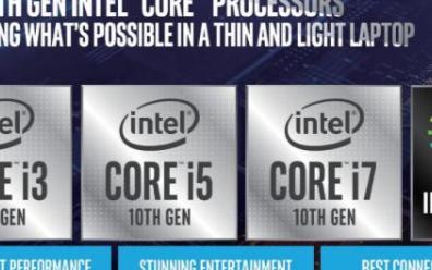 英特尔全新第十代酷睿移动处理器震撼来袭