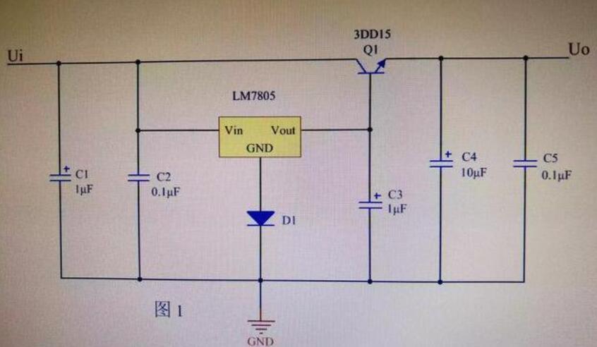 低压直流电源电路