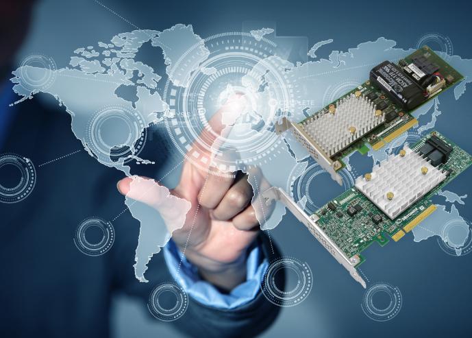 Microchip Adaptec智能存儲適配器,可與其他服務器組件實現無縫互操作