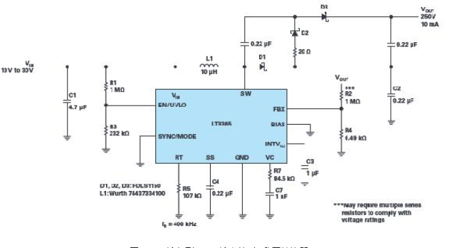 ADI用于通信的高壓gu)購he)反相(xiang)轉換器——LT83...