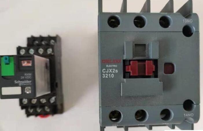交流接触器与中间继电器的配合使用