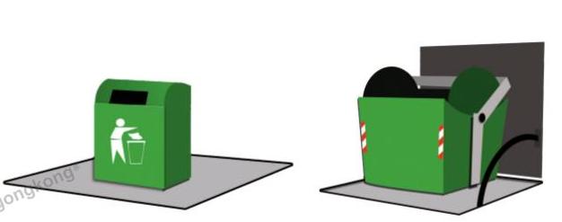 基于M18 UK1F型圆柱形超声波传感器在垃圾收集处理站中的应用解析