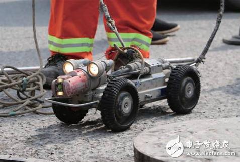 CTV管道检测机器人检查管网内部 成为排污建设的关键一环