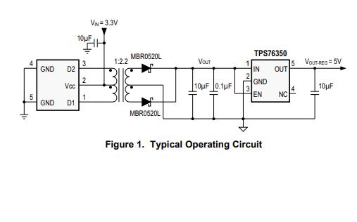 ZCC6501隔离电源变压器驱动器的数据手册免费下载