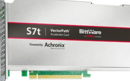 BittWare和Achronix合作推出采用7纳米的Speedster7t FPGA