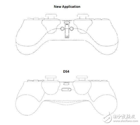 索尼PS5手柄外观造型曝光,与PS4手柄设计很相似