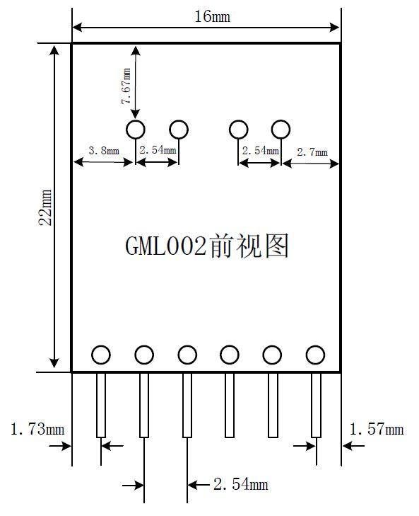 电位器转0-10V电压强驱动模块GML002