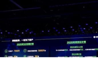 中國移動將于2020年開展雙百億計劃