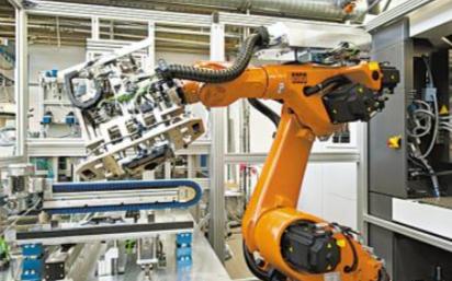 高精密RV减速器是工业机器人的核心部件之一