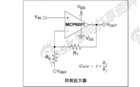 MCP600X系列运算放大器中文数据手册免费下载