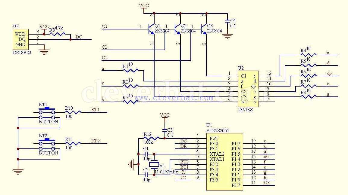 温度控制器表头的原理及说明