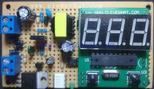 数字温控器的原理及组装