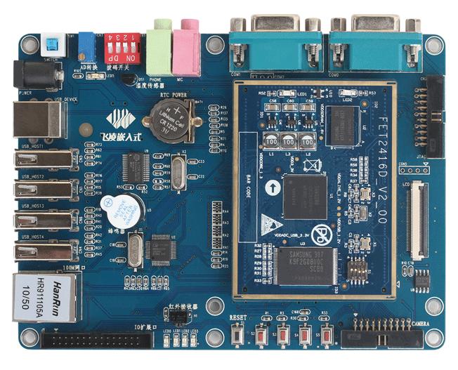 飞凌嵌入式FL2416开发板介绍