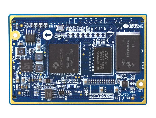 飞凌嵌入式FET335xD工业级核心板介绍