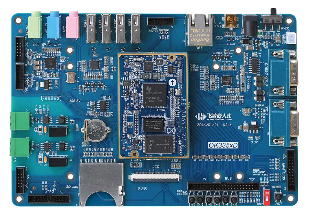 飞凌嵌入式OK335xD工业级开发板简介