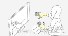 苹果推出一项触觉反馈手套专利 可以在Mac或VR...