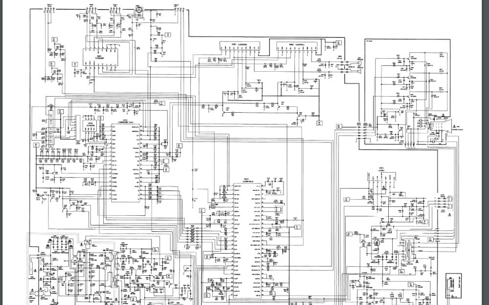 海信tc2502h系列彩色电视机电路原理图免费下载