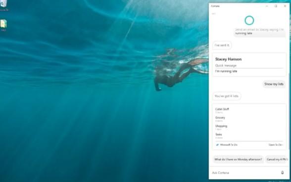 一手好牌打烂后 ,微软Cortana现在删除了一些功能