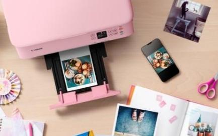 佳能最新发布腾彩PIXMA喷墨打印机,颜值高性能强