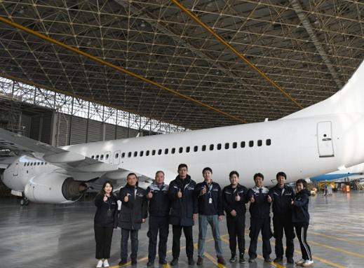 OBA已顺利完成了国航B737-800飞机7C+退租检工作