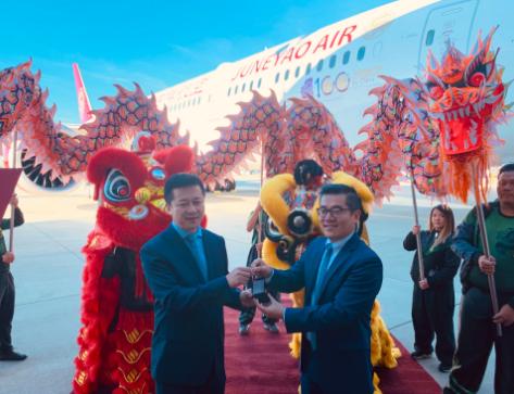 上海航空公司已成功接收了第六架787-9梦想飞机