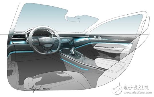 领克全新SUV内饰图曝光 多项配置都进行了升级优化