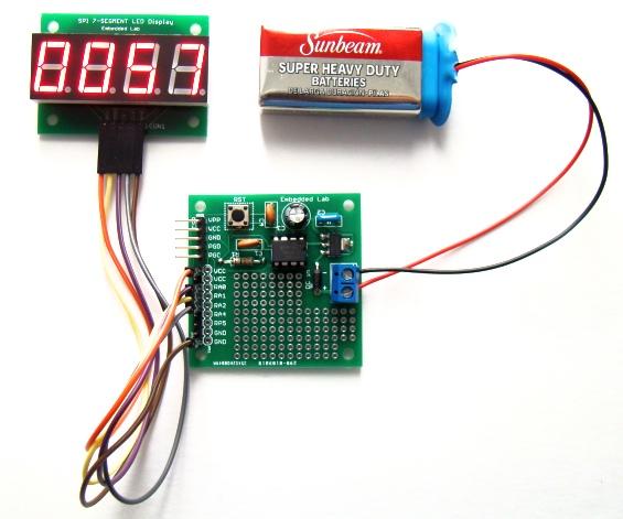 PIC12F单片机项目板的介绍