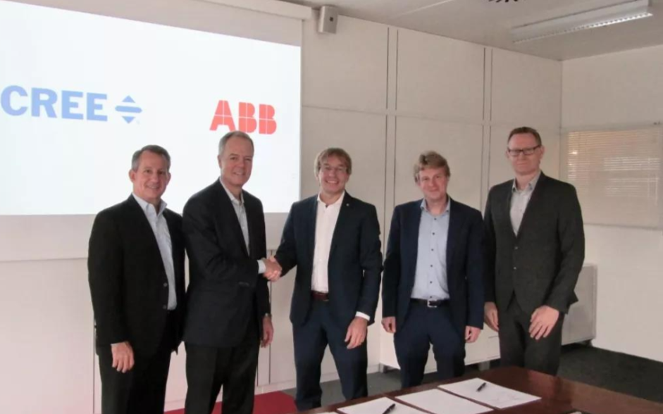 科銳助力ABB進入高增長EV電動汽車市場