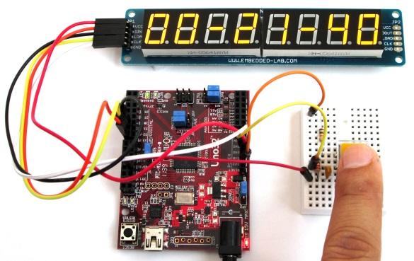 如何使用chipKIT Uno32板构建一个数字秒表