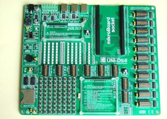UNI-DS6开发板的介绍