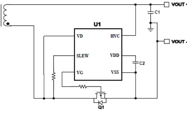 ZCC6908HV低功耗二极管仿真器集成电路的数据手册免费下载