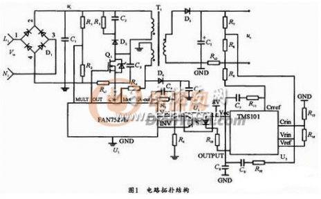 基于FAN7527B控制芯片的LED驱动电源设计