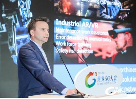 爱立信Mikael Hook表示5G更广泛的应用将是在工业制造领域