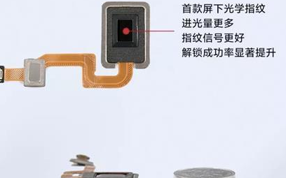小米发布新一代超薄屏下光学指纹,比传统指纹更轻薄