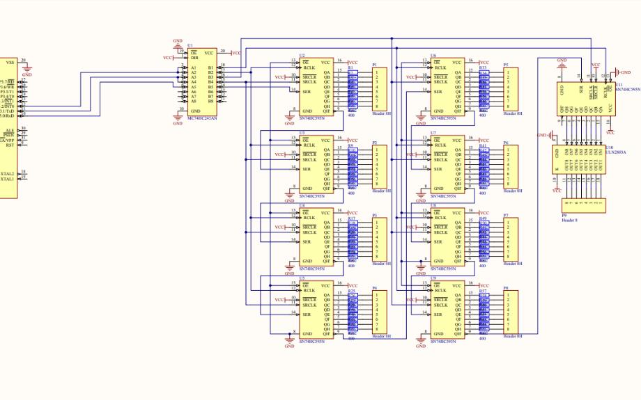 8立方的光立方电路原理图免费下载